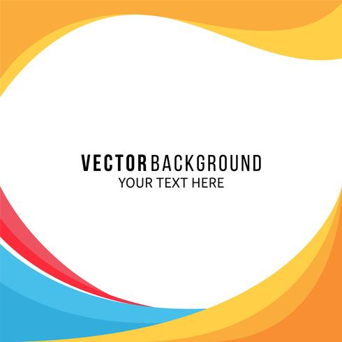 Abstract oranje achtergrond gratis vector