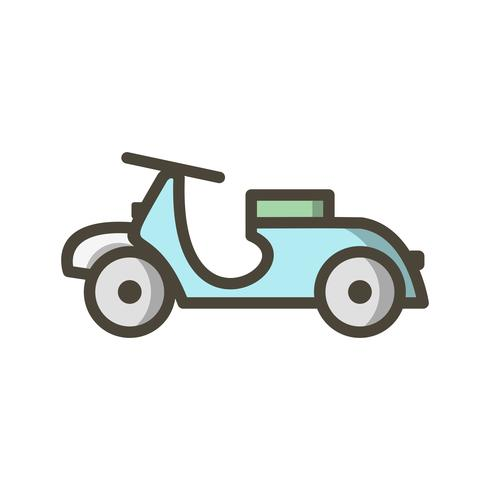 Vector Vespa Icon
