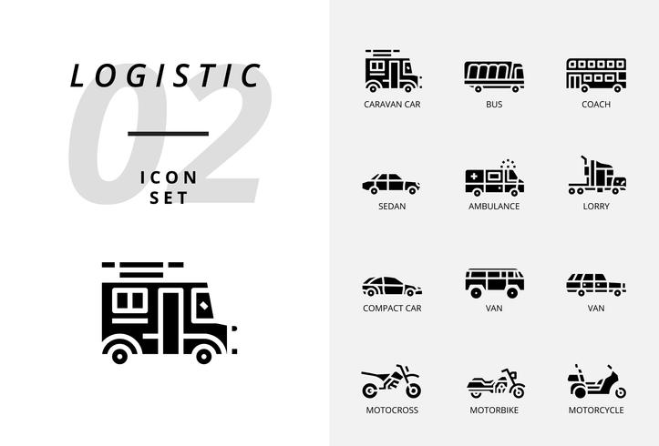 Icon pack for logistics , drone delivery, destination, keep dry, global logistic, home, purchase, secure, delivery time, protect, delivery, safe, trolly. vector