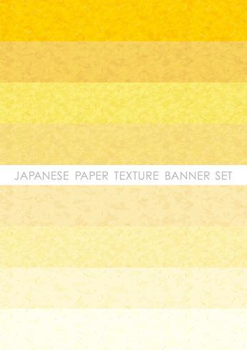 Conjunto de bandeira de papel japonês.