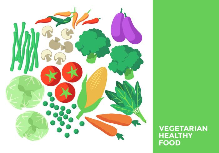 Vegetarisk hälsosam mat