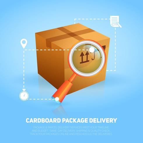Logistiskt paketaffisch