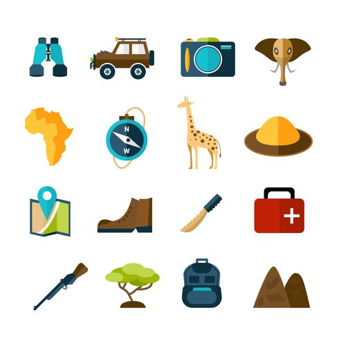 Conjunto de ícones do Safari