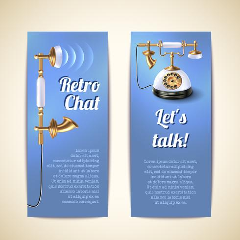 Telefon Banners Vertikal