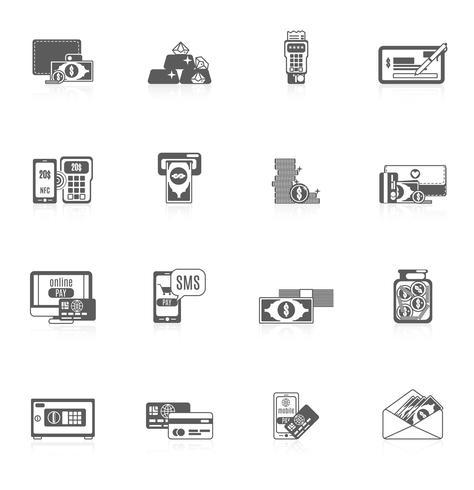 Set di icone di pagamento
