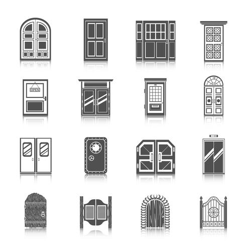 Deur Icons Set