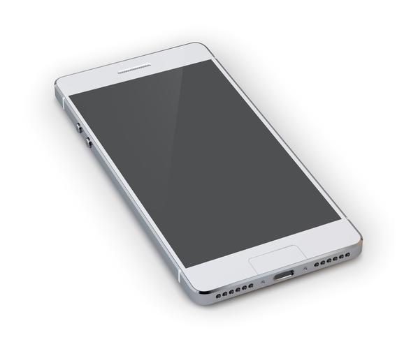 Illustrazione di smartphone 3d