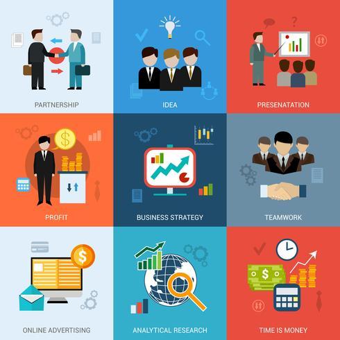 Set di concetti di business