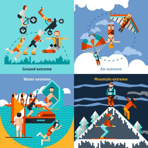 Set de deportes extremos