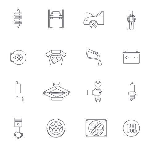 Icono de esquema de servicio automático
