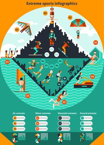 Extreme Sports Infographics