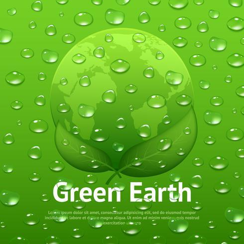 A água deixa cair o cartaz do Eco