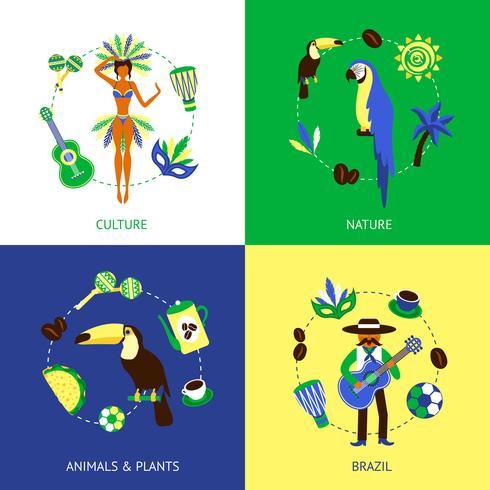 Brazilië ontwerpconcept