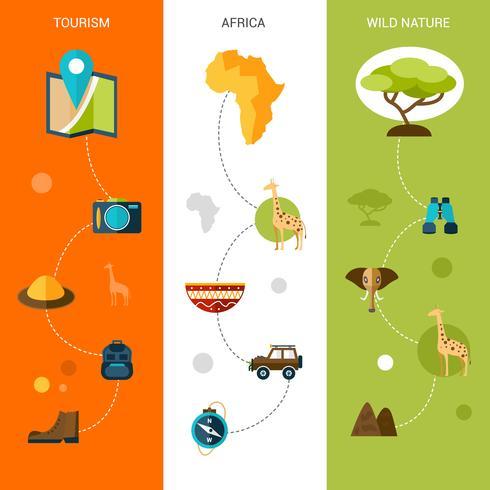 banner verticali di safari