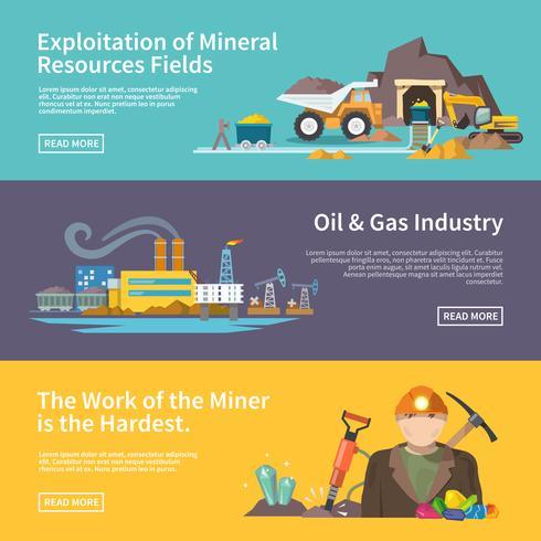 Miner Banner Set