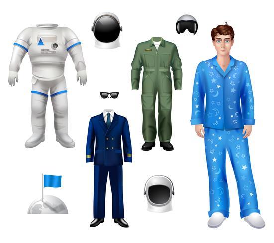 Astronauta Boy Set