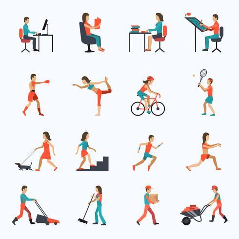 Iconos de actividad física