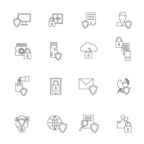 Symbol für Informationssicherheit