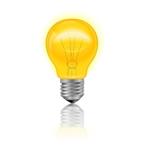 Light Bulb Realistic