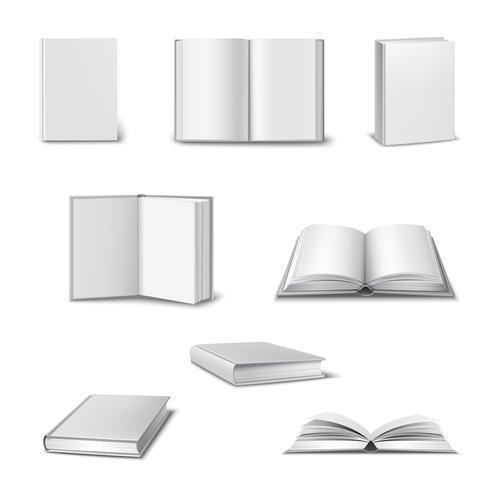 Set de libros realistas