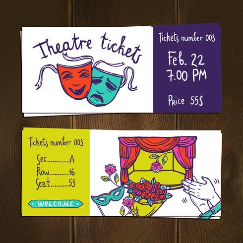 Theater Ticket Set