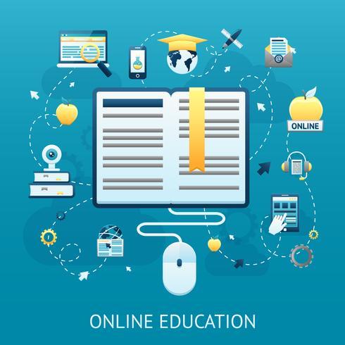 online utbildning design koncept