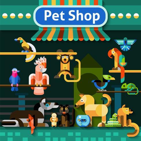 Dierenwinkel achtergrond