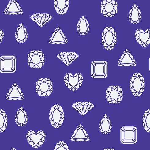 Padrão de diamantes