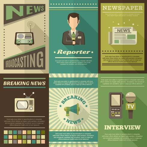 Journalist-Poster-Set