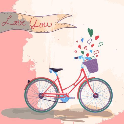 Fiets houdt van je