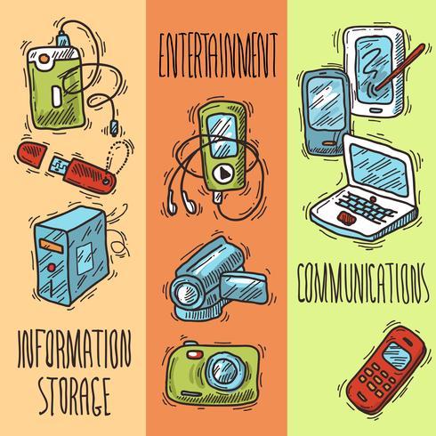 Bannières pour appareils mobiles