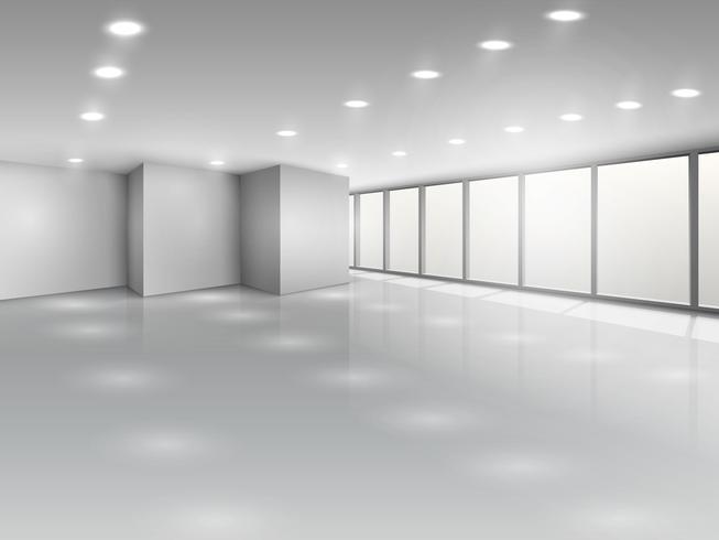 Lätt konferensrum eller kontor öppet utrymme interiör