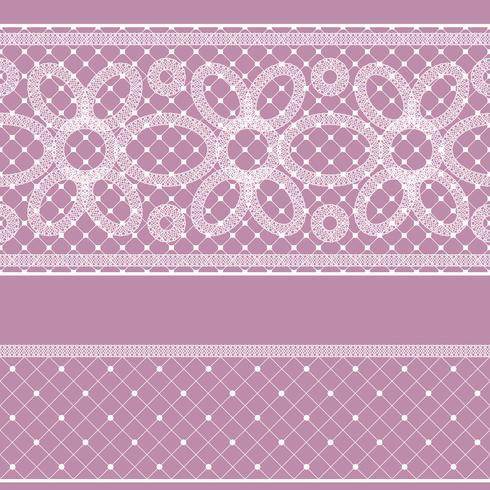 Naadloos patroon met kant voor ontwerp