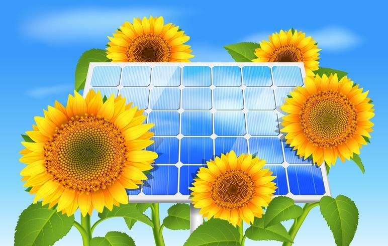 Eco concepto de energía verde