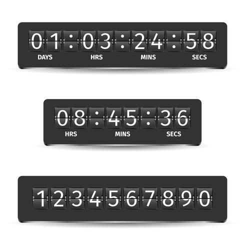 Countdown Timer Illustratie