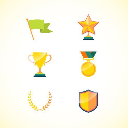 Set prestatie badges