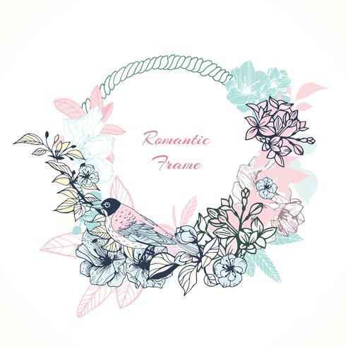 Zacht romantisch frame