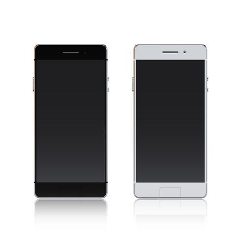 Smartphone noir et blanc