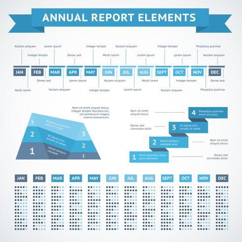 Graphiques de présentation pour la finance