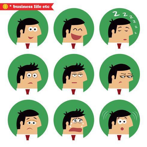 Business facial emotions
