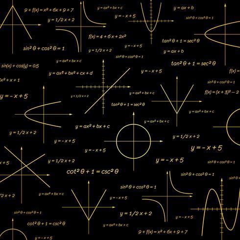 Abstract math vector