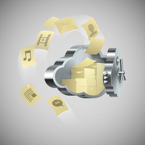 Cloud-Technologie Remote-Computing