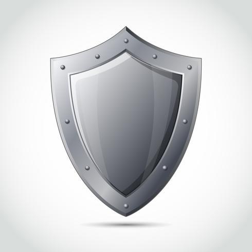 Blank sköld affärsskydd emblem