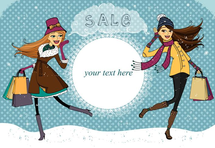 Vinterferie shopping promo