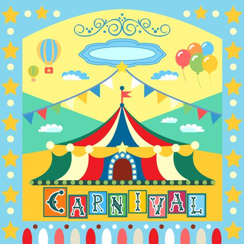 poster di carnevale