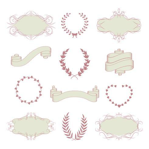 Collezione grafica per matrimoni
