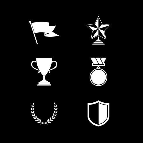 Trophy and prize symbols