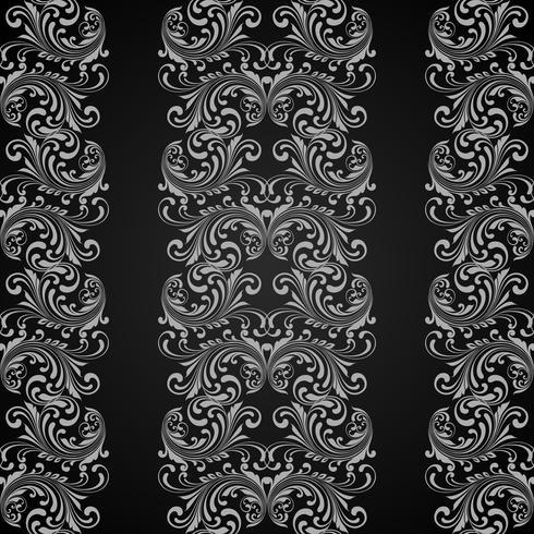 Vertikalt grått sömlöst mönster