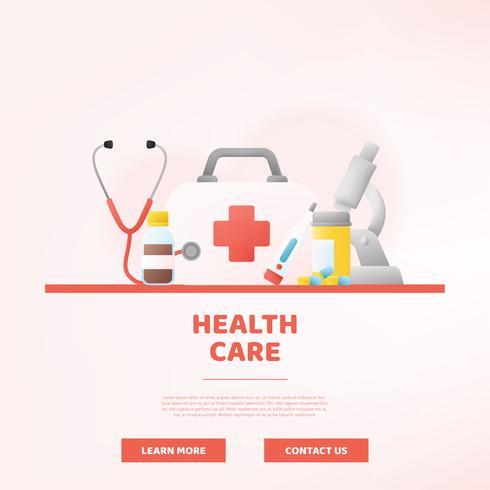 Conception de vecteur de soins de santé