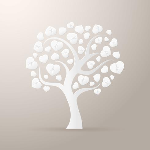 Icône d'arbre de papier